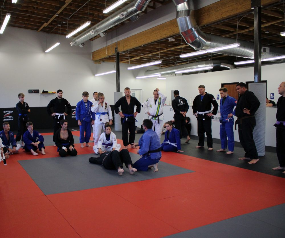 BJJ fundamentals class with Professor Ben