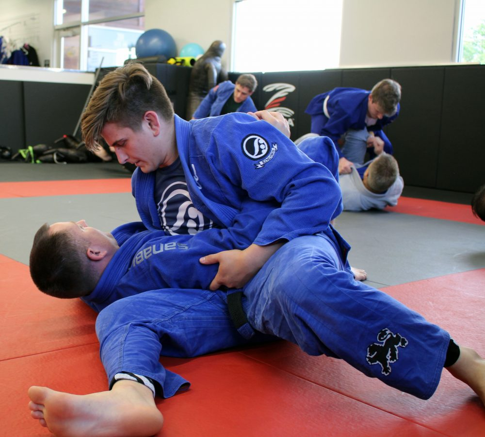 Kyle and Jesse - Adult Brazilian Jiu Jitsu Class