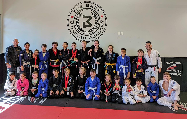 Kids Jiu Jitsu Team Medals